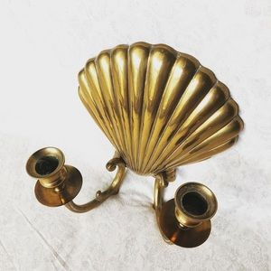 Accents - Solid Brass Shell Sconce
